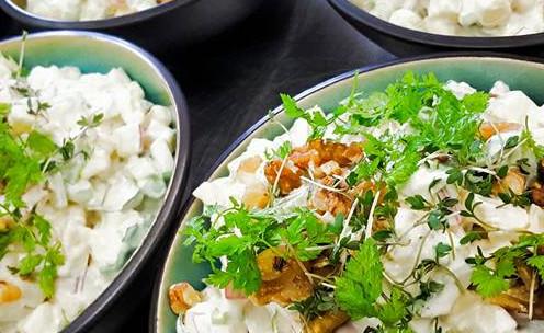 Salat fra Stubbs Frokostkøkken